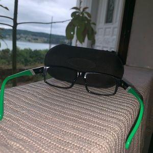Oakley Accessories - Oakley Junkyards II Green Black Eyeglasses